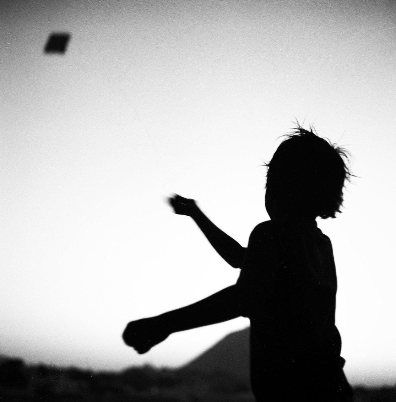 Kite boy, Rajasthan