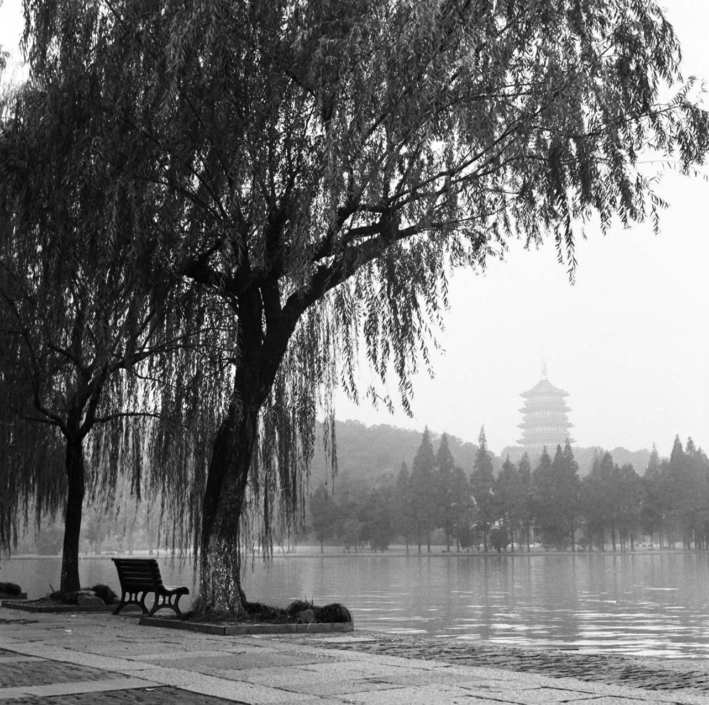 Lonely bench II, West lake, Hangzhou