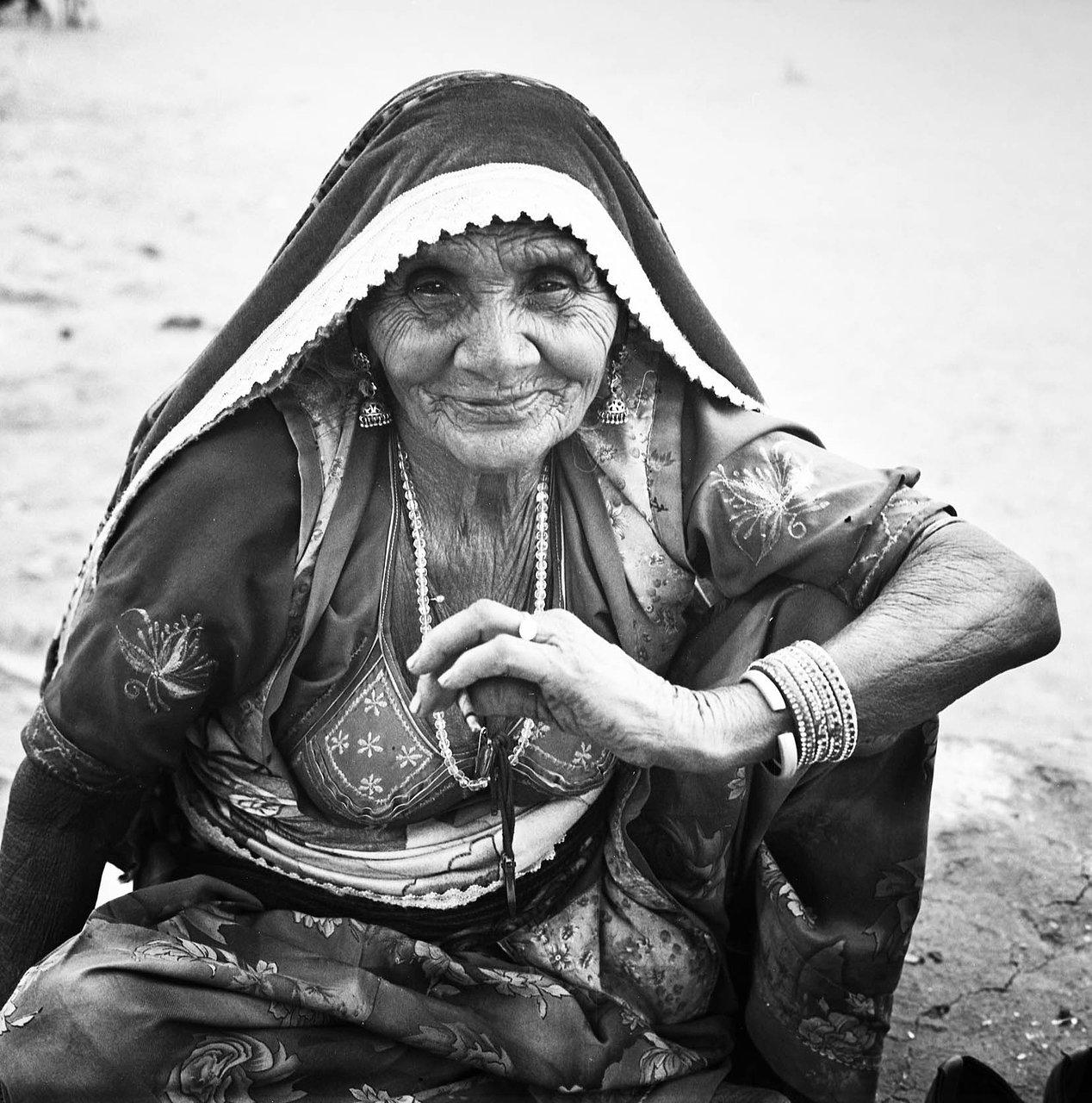 Old Woman, Rajasthan