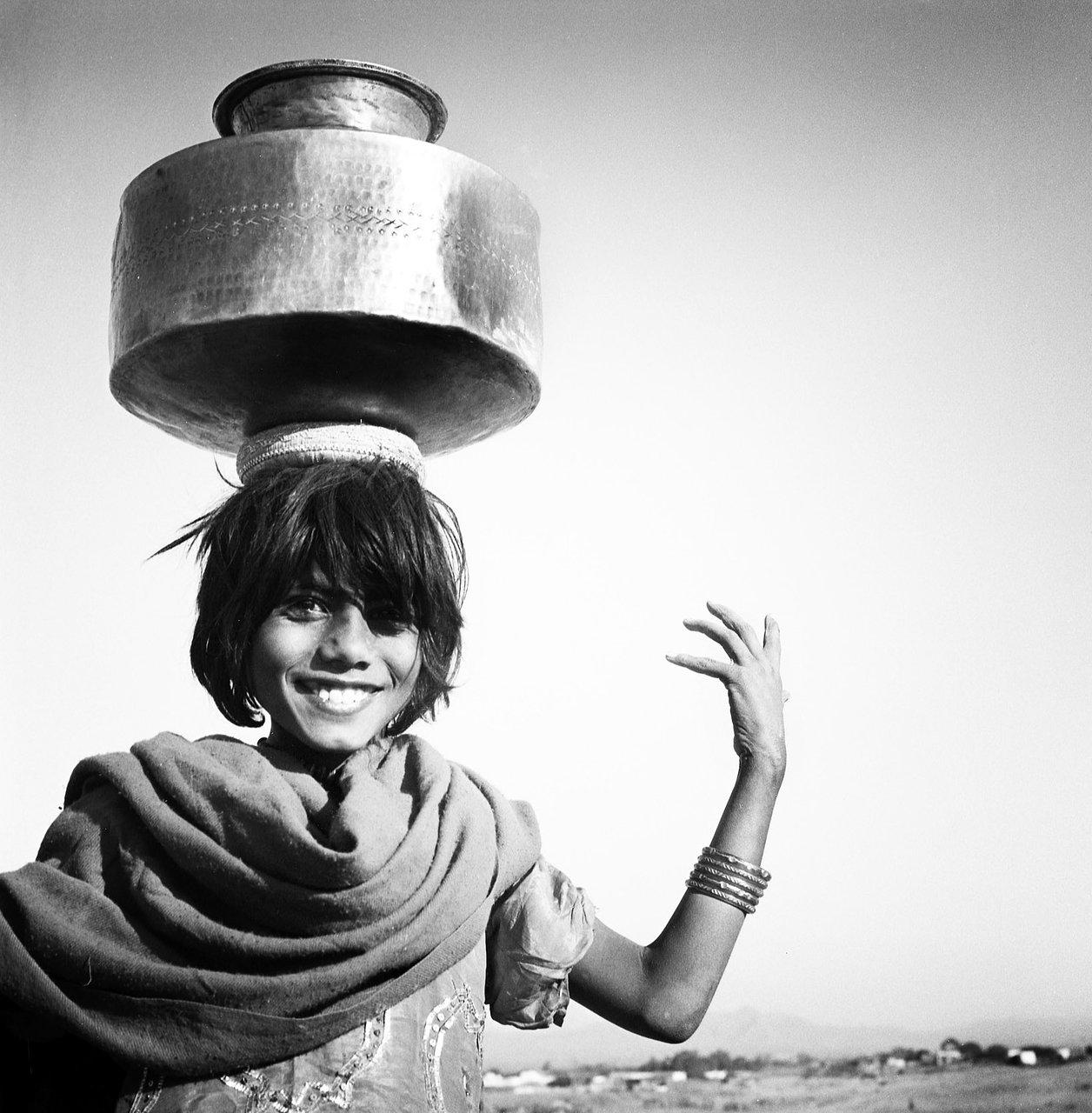 Gipsy girl, Rajasthan