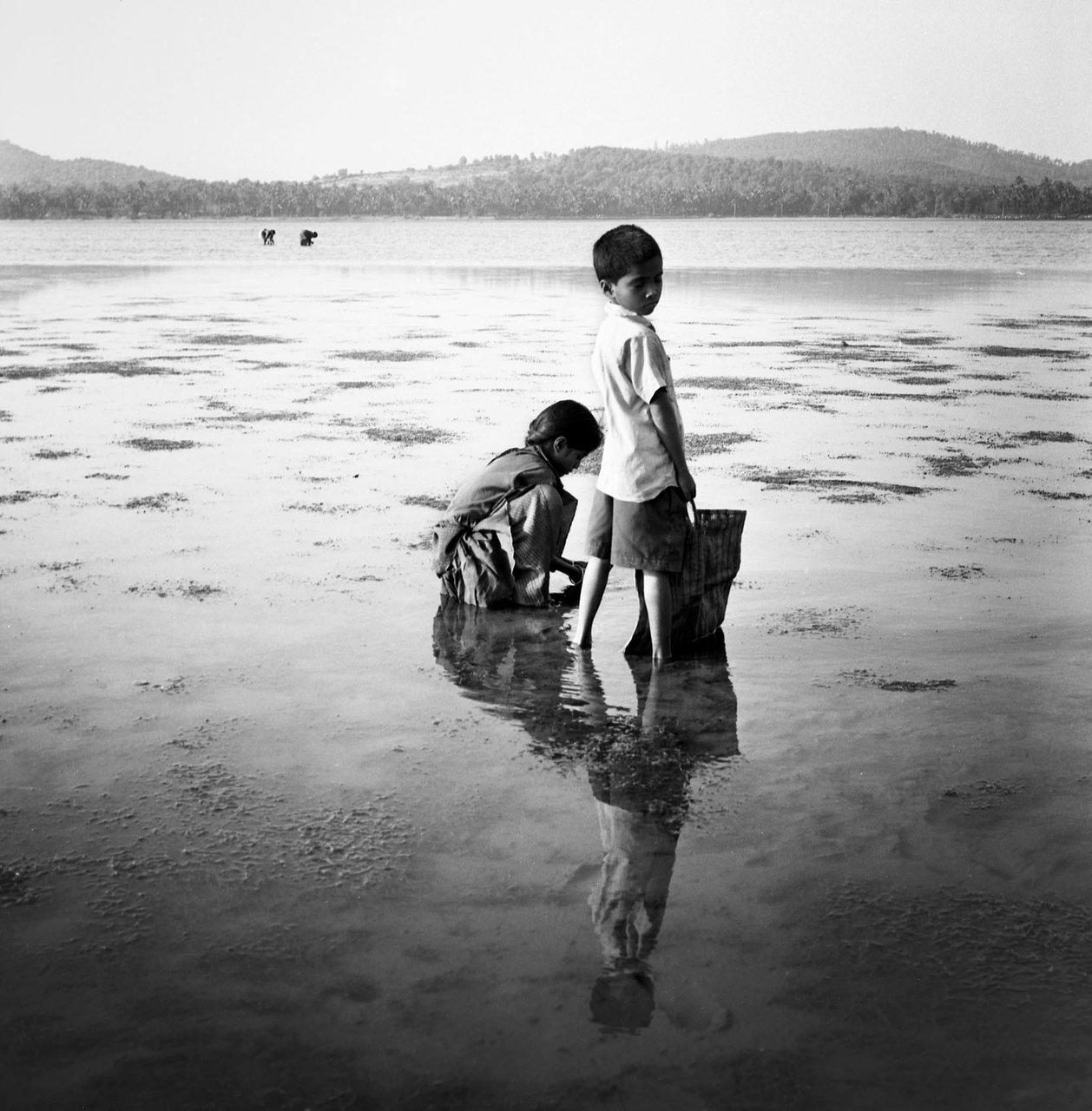 Walking on water, Gokarna
