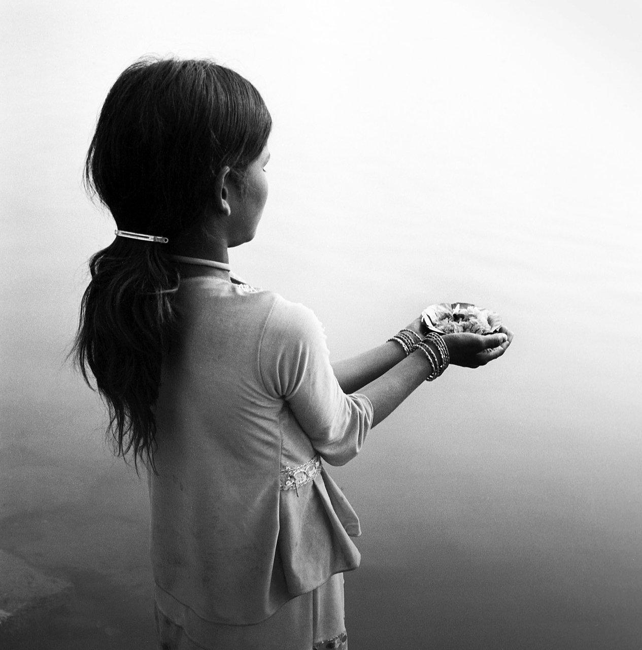 Puja girl 2, Varanassi