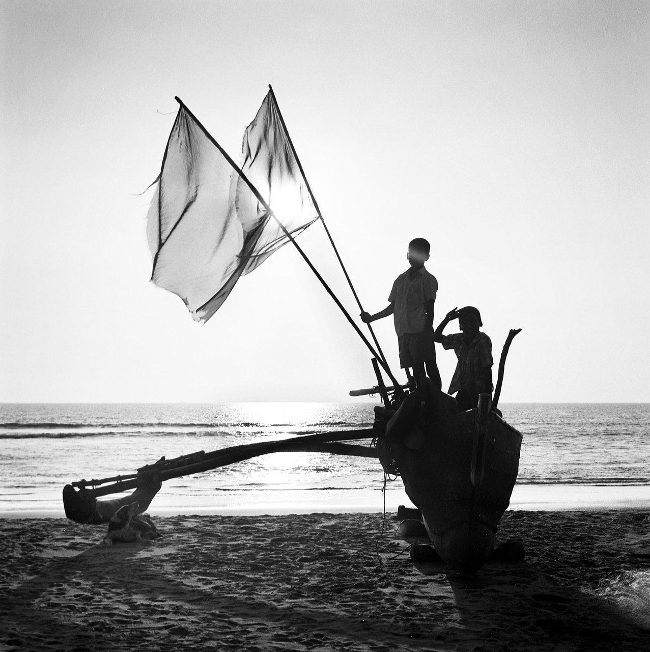 Fishing boat, Gokarna
