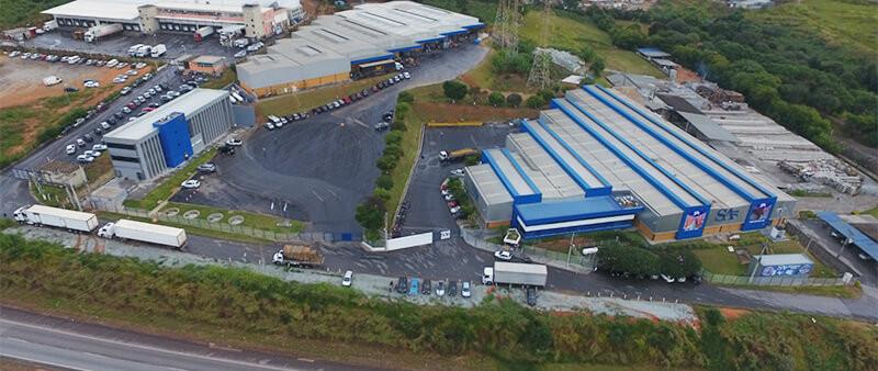 Sede da empresa Grupo SA em Minas Gerais.