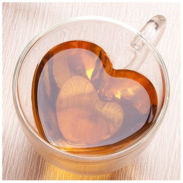 Tasses à café - Duo coeur
