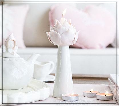 Lot de 2 Bougeoirs Lotus