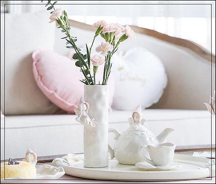 Vase en porcelaine Elfe