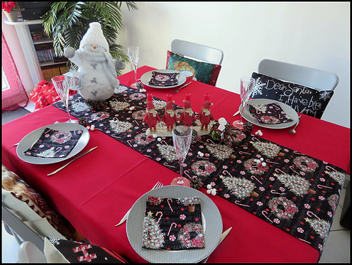 Chemin de table & Serviettes