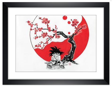Poster Goku Zen