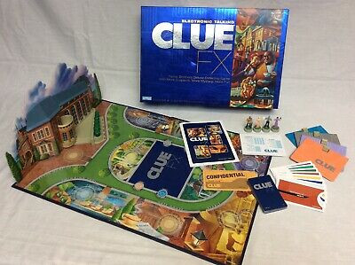 electronic clue