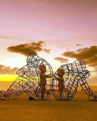 Schema - inner-child-burning-man-sculptu