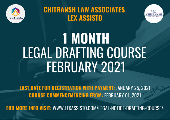 LEGAL DRAFTING COURSE