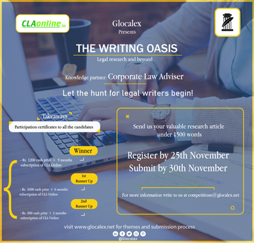 GLOCALEX presents  THE WRITING OASIS