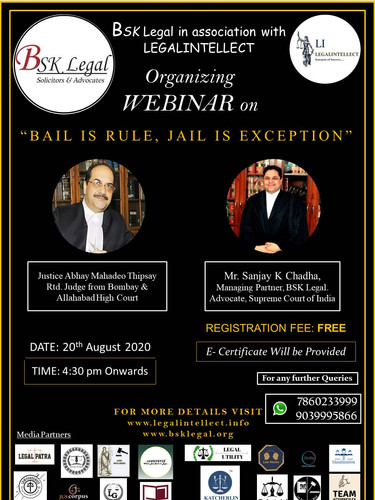 BAIL IS RULE JAIL IS EXCEPTION