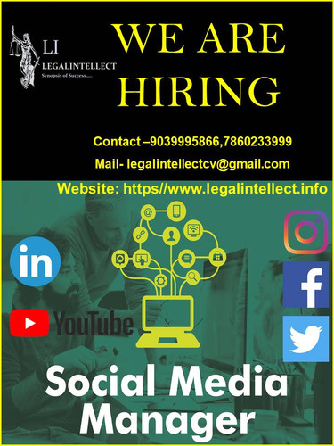 WE ARE HIRING SOCIAL MEDIA MANAGER