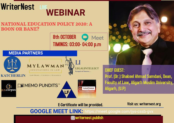 'National Education policy- A Boon or Bane?'