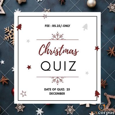 Christmas Quiz by JUSCORPUS