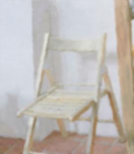 I rommet XI / oil on plywood / 21 x 24 cm / 2018