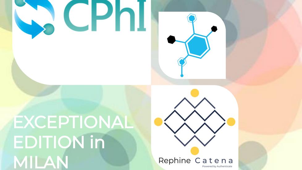 Join us at CPhI worldwide in Milan: 9 - 11 November 2021
