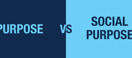 What is the difference between Purpose and Social Purpose