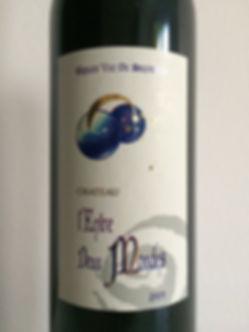 Terroirviner Domaine l'Entre Deux Mondes Bordeaux Supérieur 2005