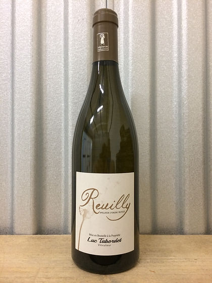 Luc Tabordet Reuilly Blanc