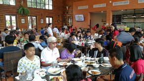 งานเลี้ยงขอบคุณลูกค้า โตโยต้า กาญจนบุรี