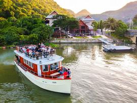 ล่องเรือริมแม่น้ำ | ปลากาญจน์ รีสอร์ท 2