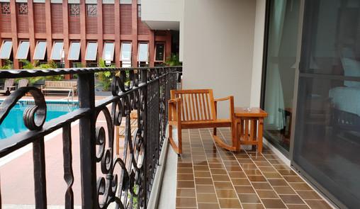 ห้องพักแบบซูพีเรีย : ปลากาญจน์ รีสอร์ท ที่พักกาญจนบุรี