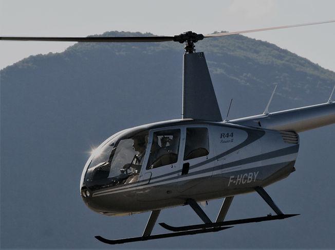 Hélicoptère R44 - Centre de formation