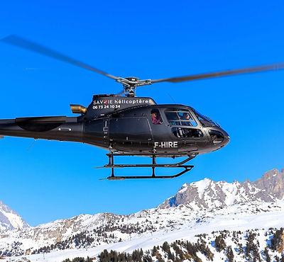 transfert hélicoptère Les Ménuires