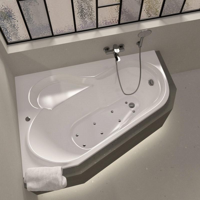 Baignoire d'angle - salle de bain