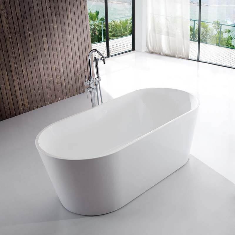 Choisir une baignoire îlot