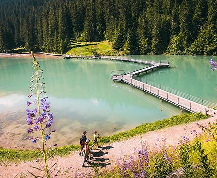 Lac de la Rosière - Courchevel en hélicoptère