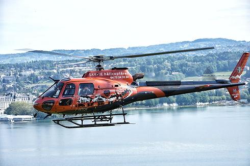 Vol découverte en hélicoptère