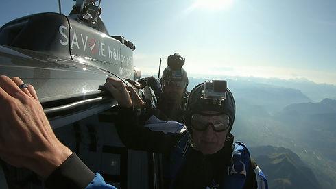 Parachutisme en Haute-Savoie