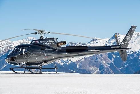 transfert en helicoptere