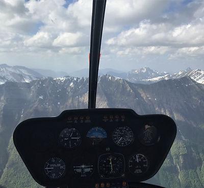 Vol Supervisé en Hélicoptère - CPL