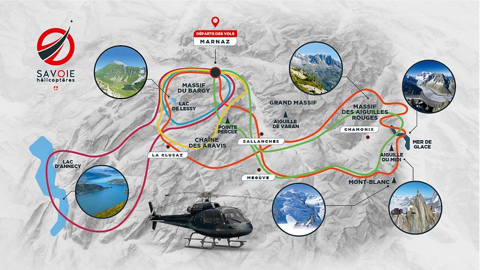 Vol touristique en hélicoptère