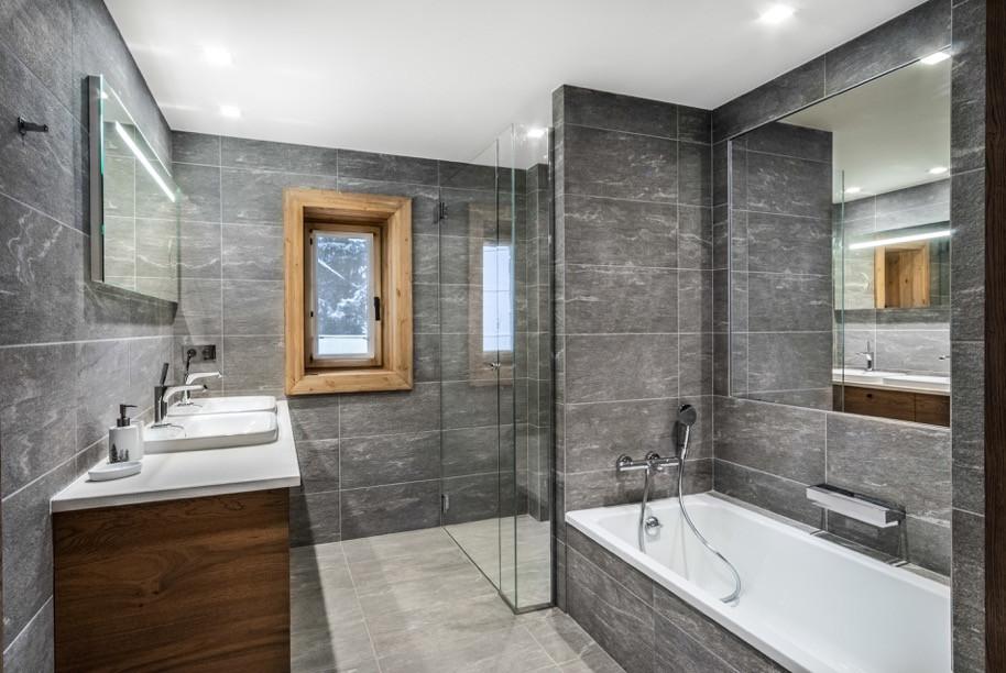 Salle de bain chalet - Haute-Savoie
