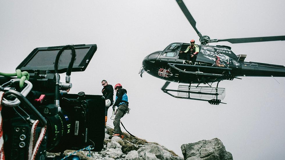Prise de vue aérienne en Hélicoptère