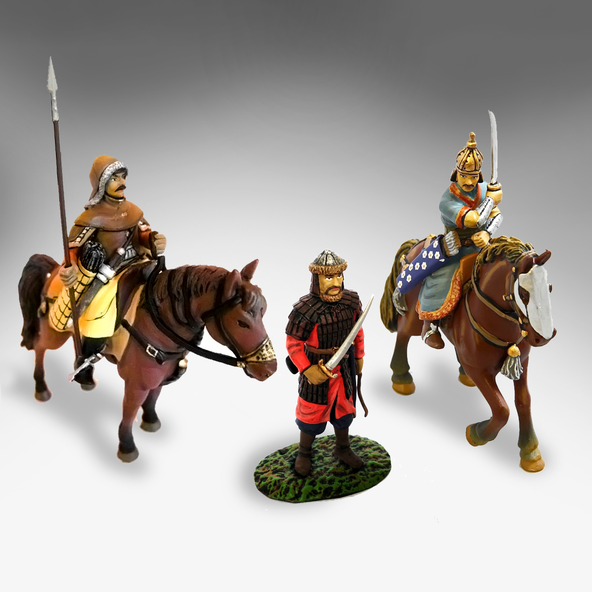 3 mongoles