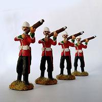 24 regimiento de infanteria britanica c.