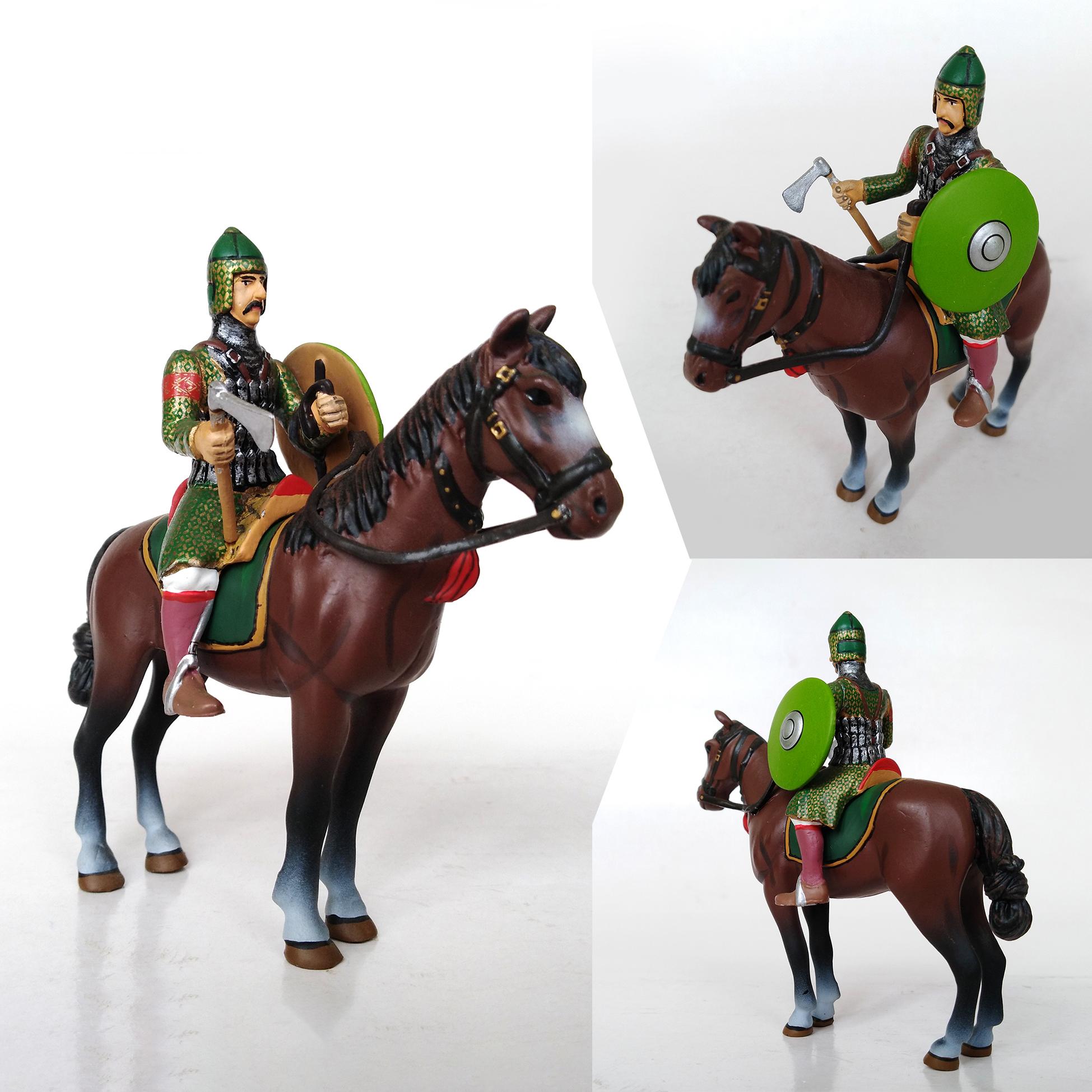caballero persa siglo XII