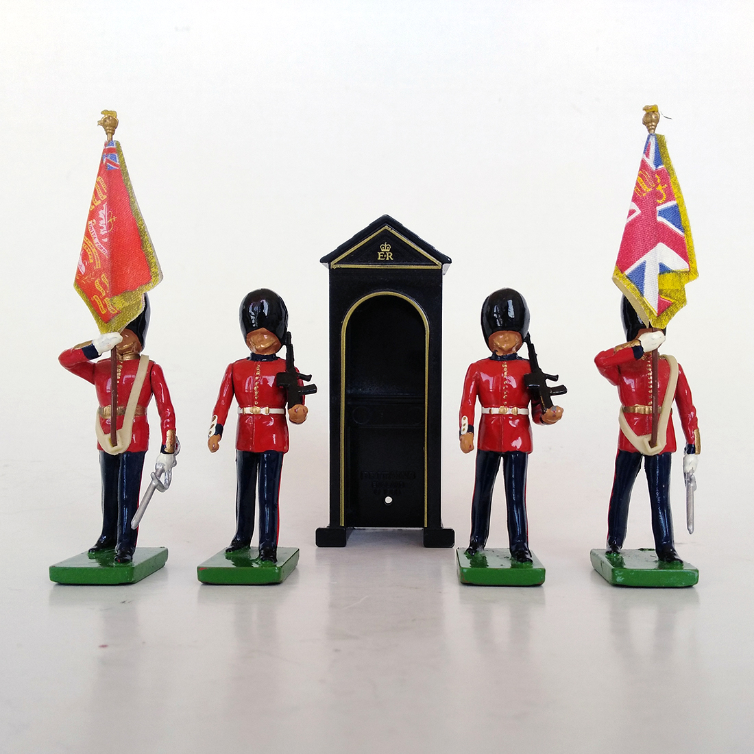 britains 00091 scotch guards con caseta
