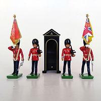 britains 00091 scotch guards con caseta