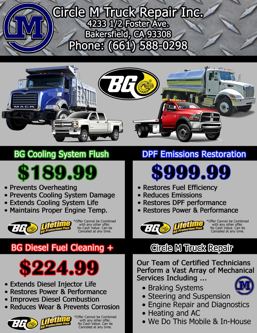 DPF Emissions Special Trucks