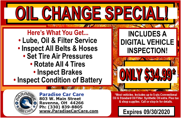 paradise_oil_change_special_september202