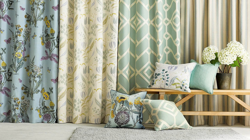 Curtains and decor, soft furnishings, Cutains, blinds, Cushions, Bed Coverings, Upholstery Fabrics, Wallpaper, By Louise, Lismore NSW, Northern Rivers, Byron Bay.
