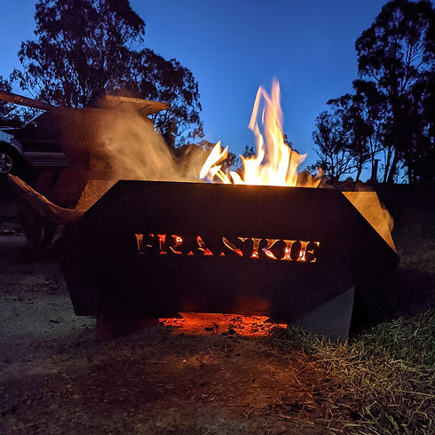 Furnace & Foundry flat pack fire pit